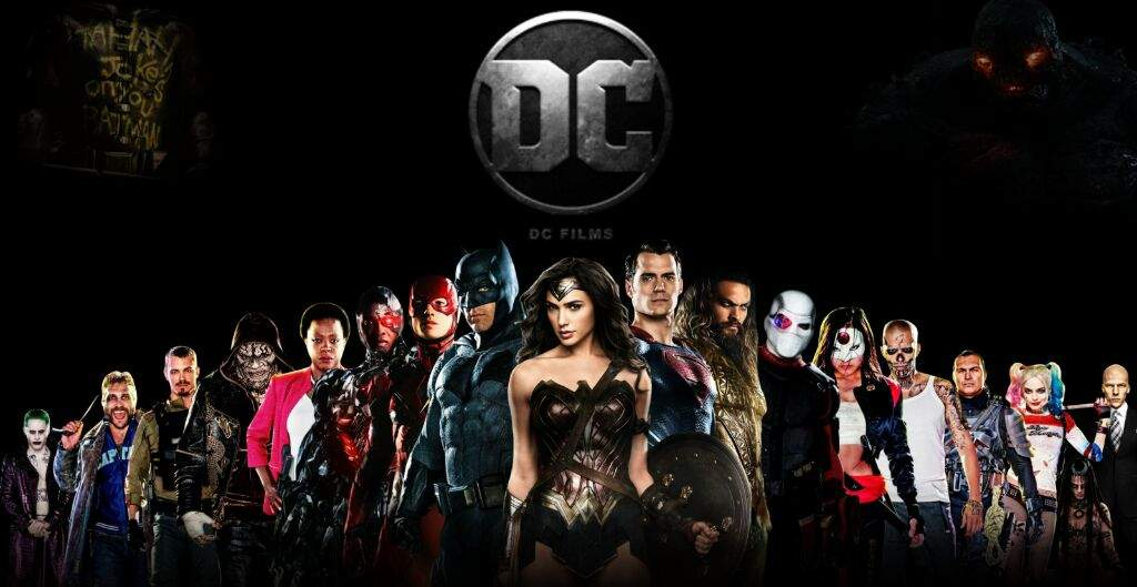 Image result for dc cinematic universe