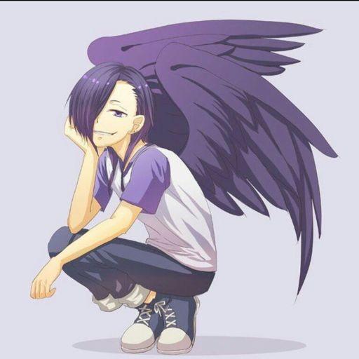 Angel Devil Man Shoulders And