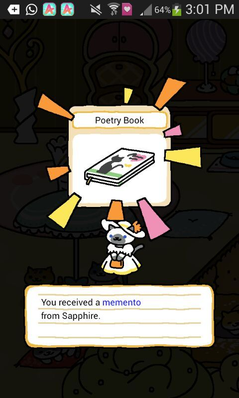 Excuse Me Miss Can I Have Your Memento Neko Atsume Amino