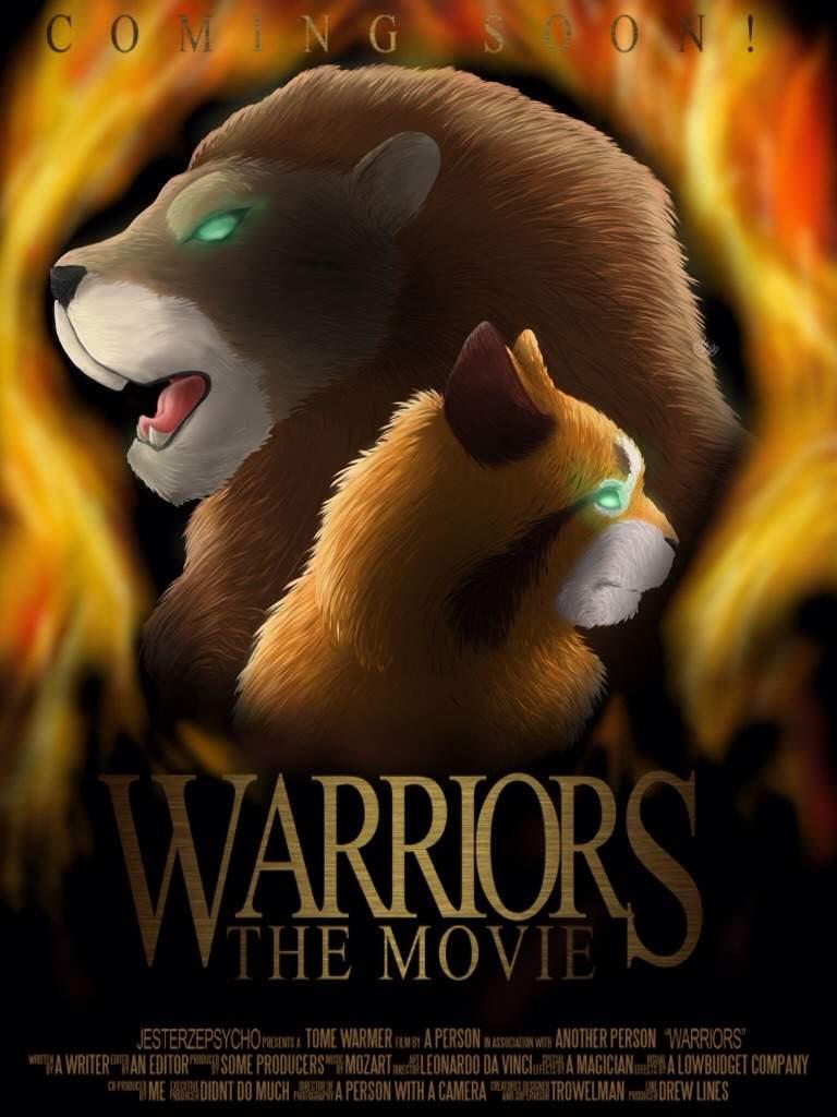 warrior cat movie poster warriors amino