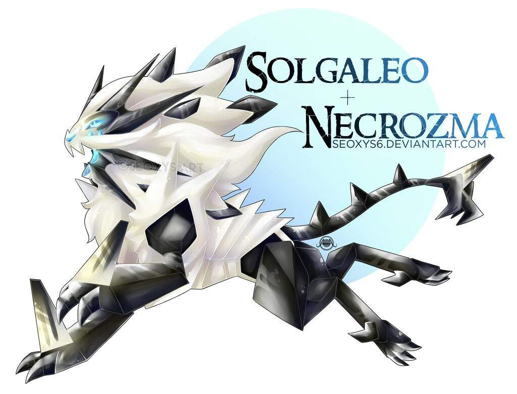 Pokefusions Solgaleo Necrozma My Art