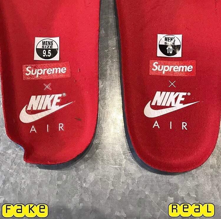 Nike Supreme Uptempo Real Vs Fake