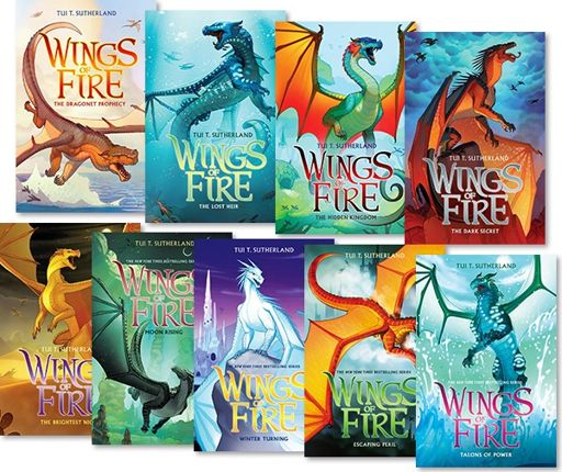 Image result for wings of fire series