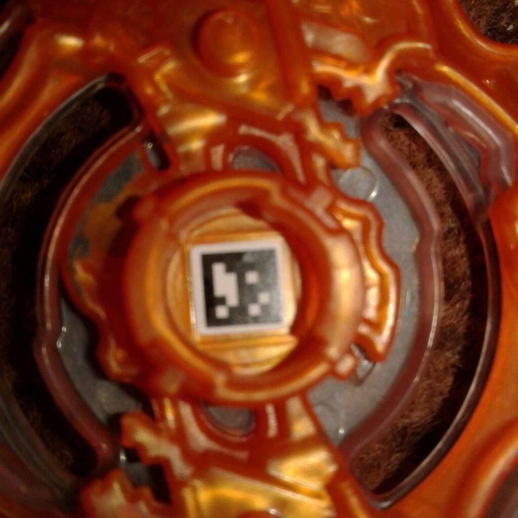 Burst Codes Scan Golden Beyblade