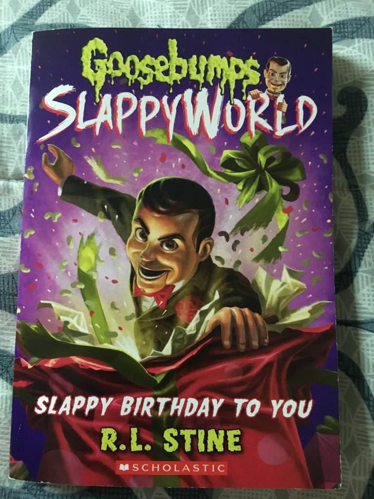 Goosebumps Book Review Slappyworld A Slappy Birthday To You Goosebumps Amino