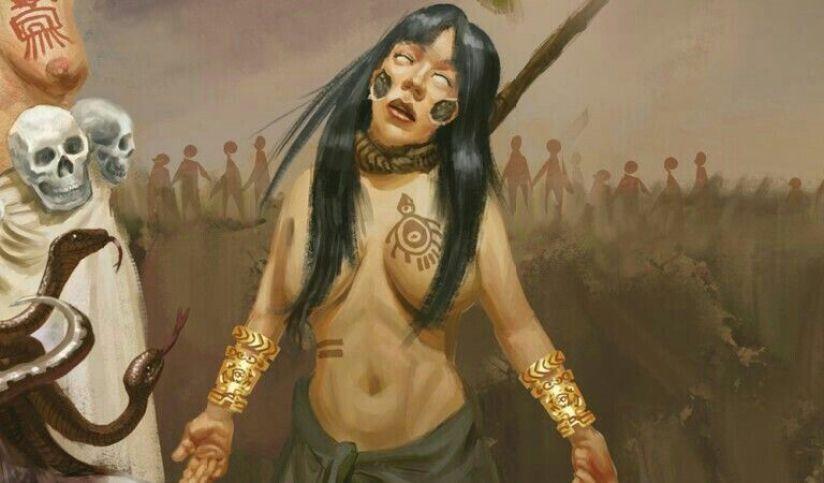 Resultado de imagem para ixtab deusa maia