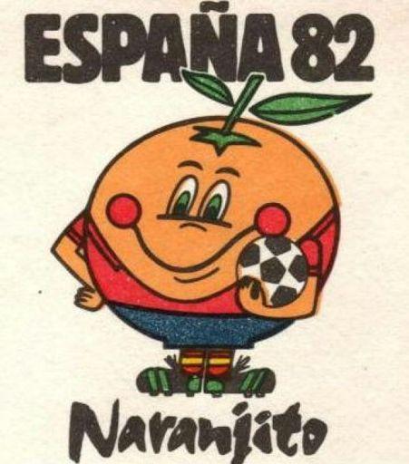 Image result for mascota de los mundiales de futbol naranjito