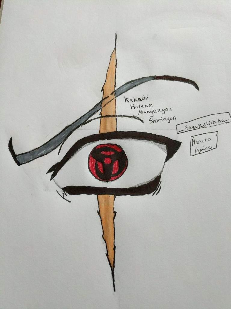 Naruto Sharingan Eyes Drawing How To Draw The Sharingan Eye