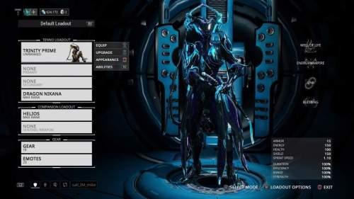 b6bf3dc5dbc4 Warframe Trinity Prime Fashion Frame Build Mercy - OneLetter.CO