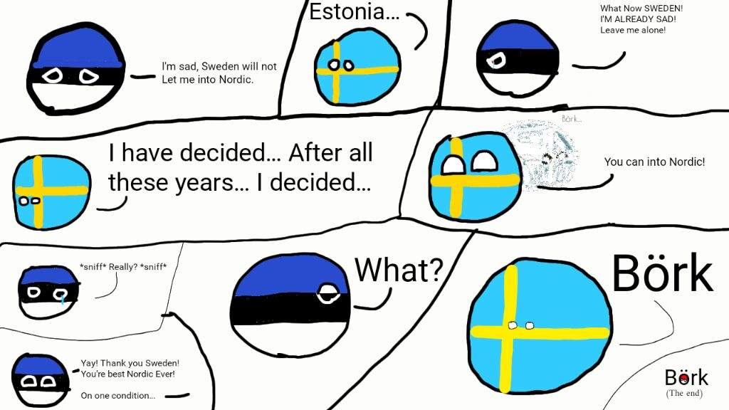 Estonia Speaks Out Comic Polandball Amino
