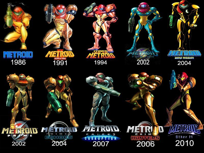 History Of Metroid And Its Timeline Part 1 Nintendo