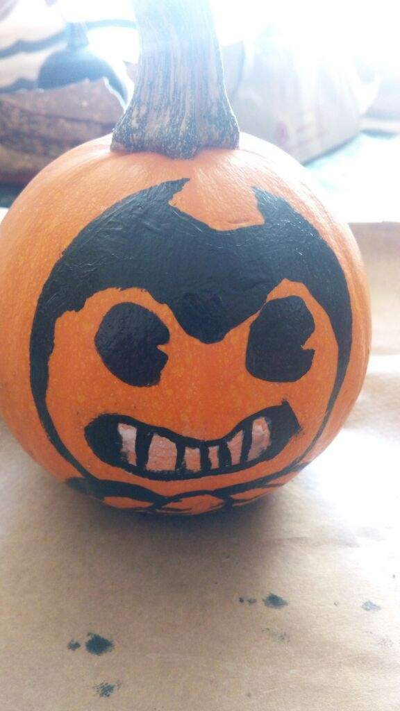 And Out Machine Bendy Cut Pumpkin Ink