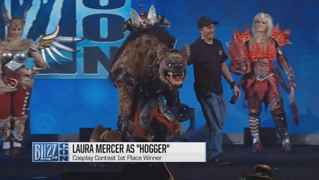 Image result for First Place Laura Mercer as Hogger
