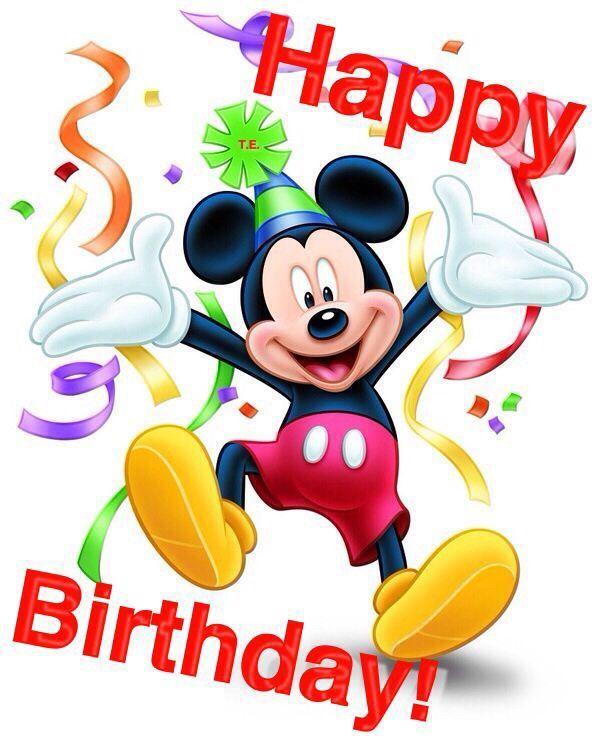 Happy Birthday Mickey Mouse Disney Amino