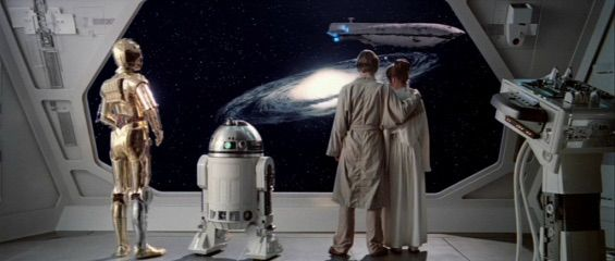Image result for end of the empire strikes back