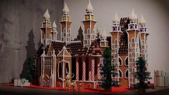 Image result for gingerbread castle