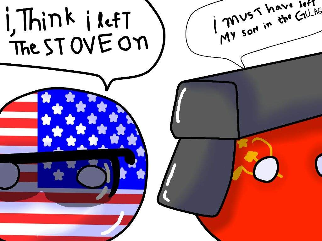 Cold War Countryballs Fanart By Novato101 On Deviantart