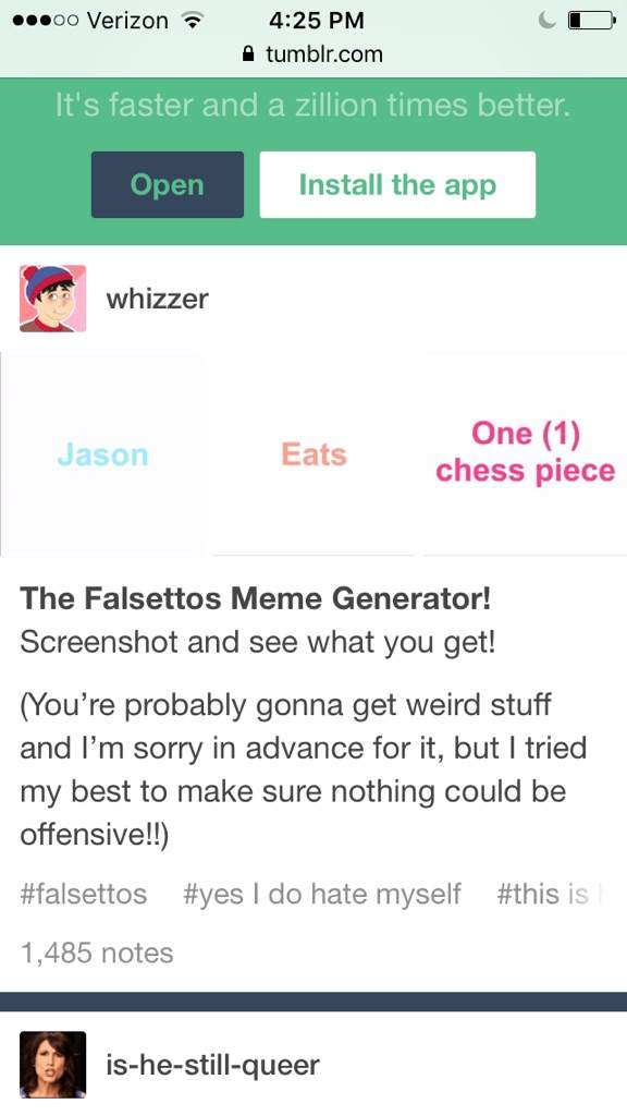 Falsettos Meme Generator Falsettos Amino