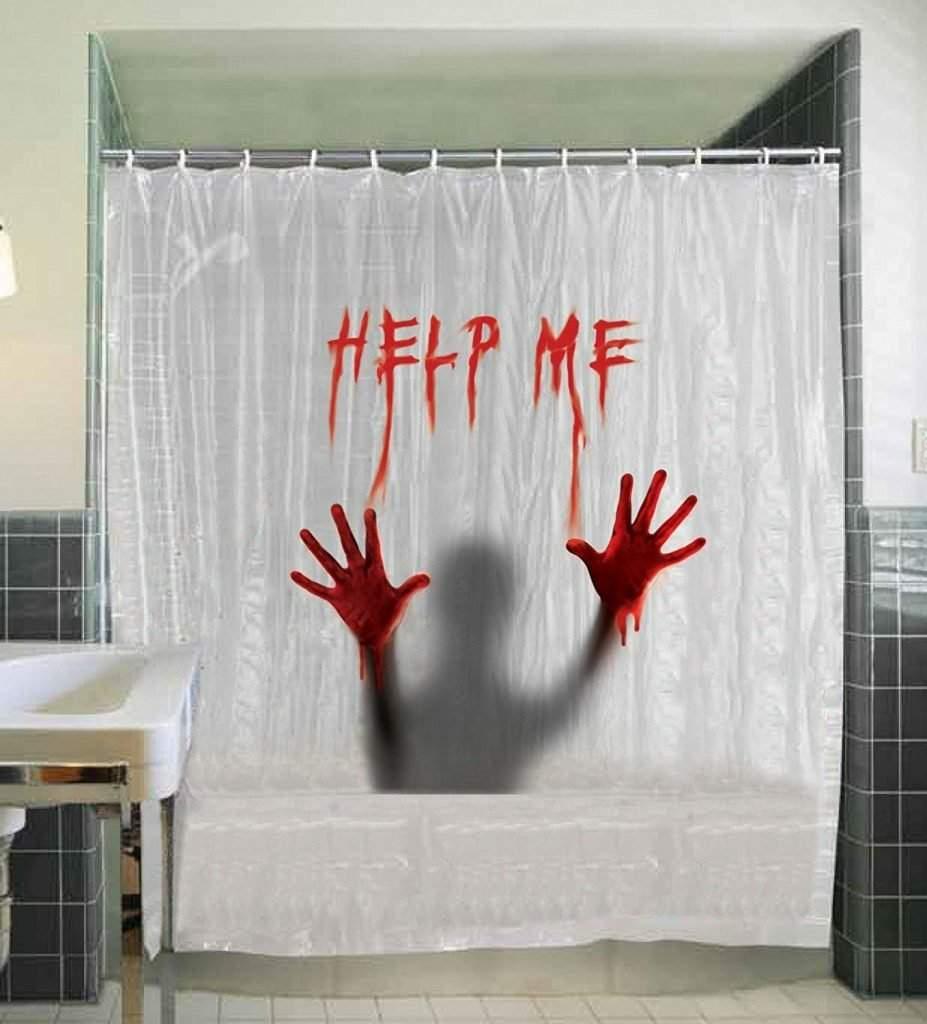 horror movie shower curtains horror amino