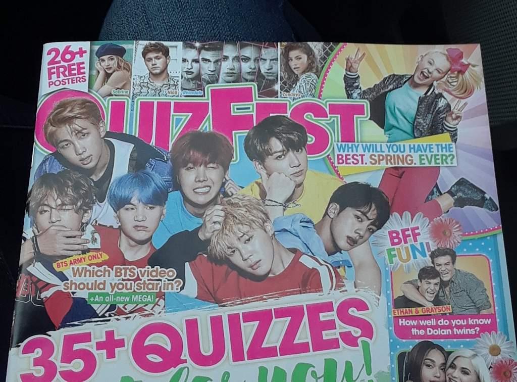 bts in american quizfest magazine
