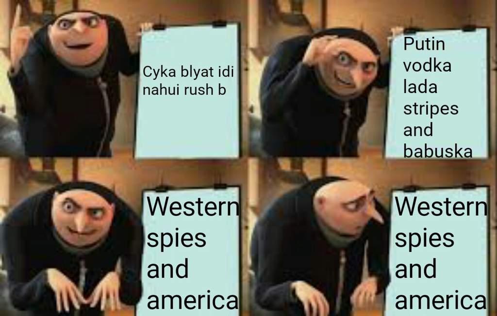 Cyka Blyat Meme By Theriddlerdoesmemes Memedroid