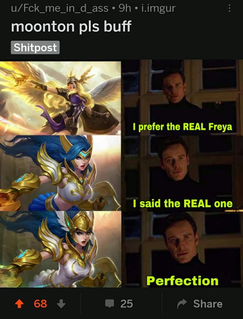 Memes From Reddit Or Facebook Changed Title Mobile Legends