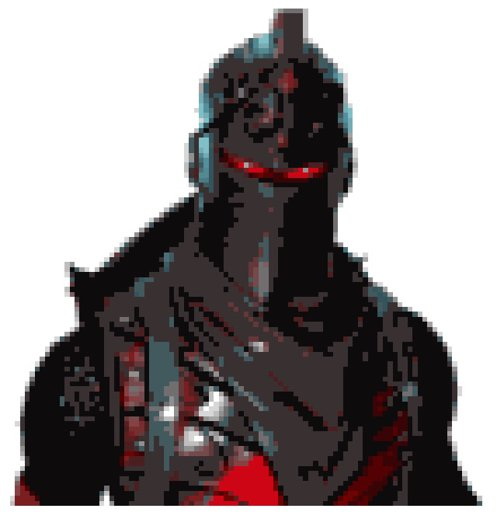 Black Knight Pixel Art Fortnite Battle Royale Armory Amino