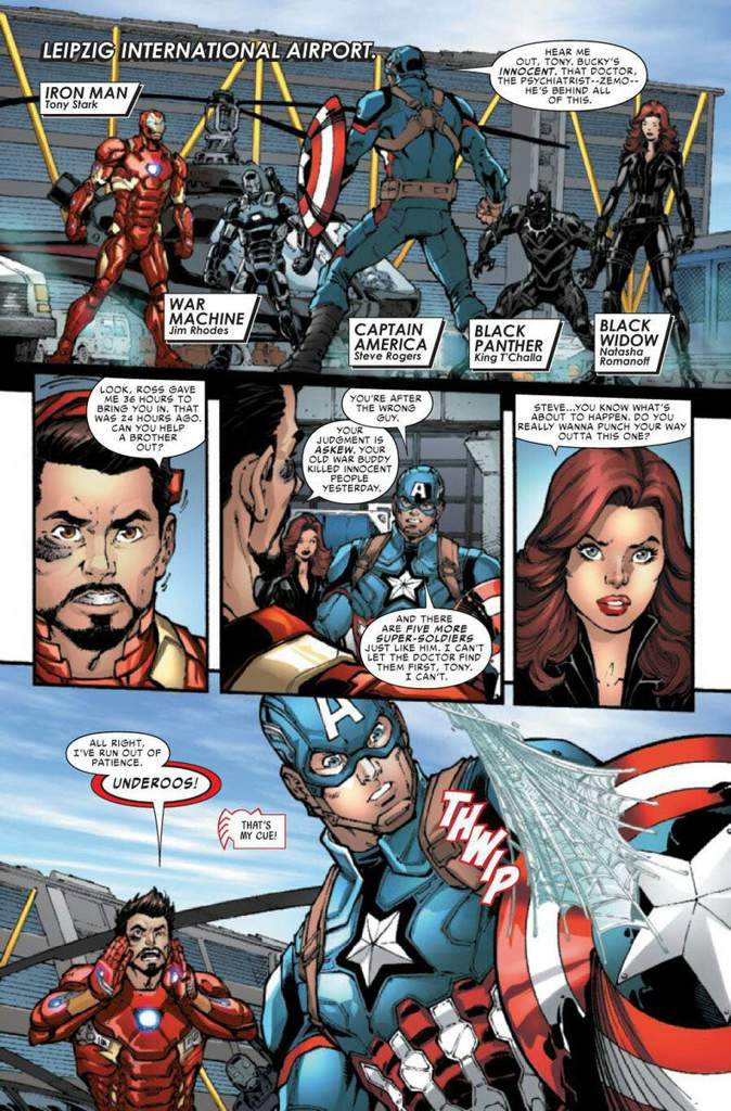 Algumas Artes De Hq Do Filme Capitao America Guerra Civil Marvel Comics Em Portugues Amino