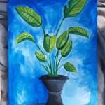 Acrylic Plant Art Amino