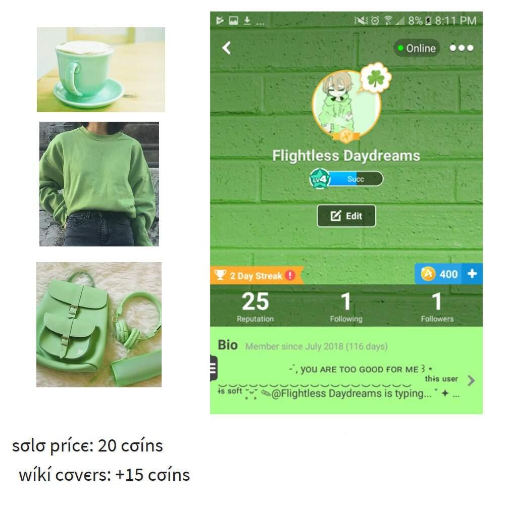 Green Aesthetic Profile Pictures - Ala Model Kini