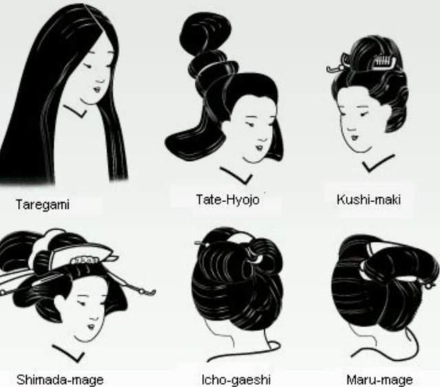 traditional japanese hairstyles- women   japan amino