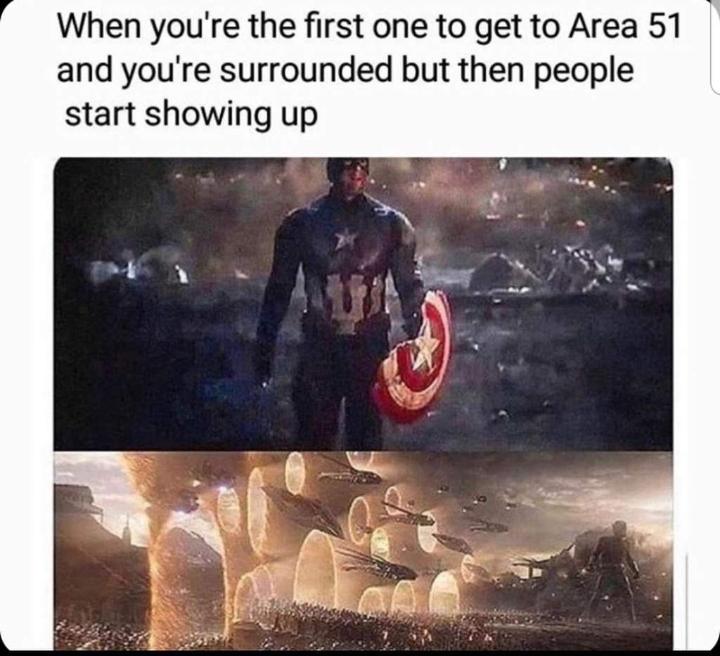 The Internet S Best Memes And Reactions To Area 51 Stormers