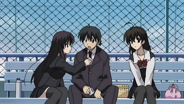 Image result for school days anime
