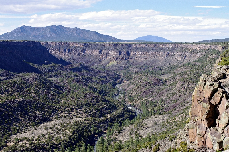 Wild Rivers Scenic area at Rio Grande Gorge