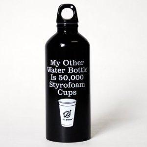 Styrofoam Cup Water Bottle