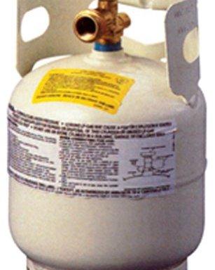 Five pound propane tank