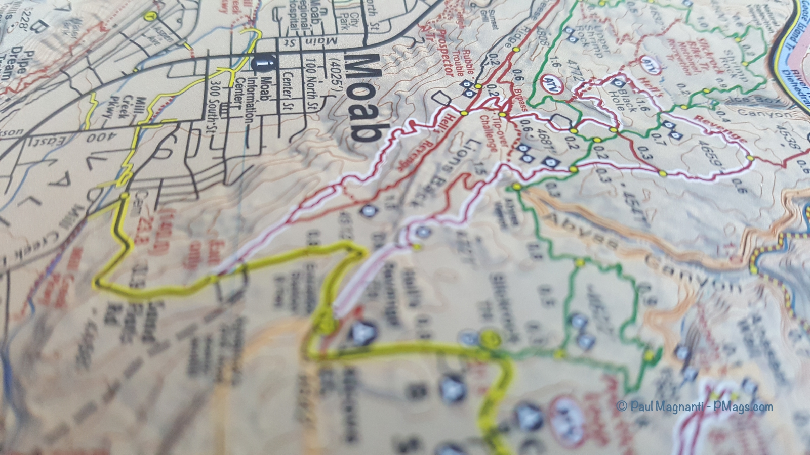 Gear review: Latitude 40 Moab Maps |