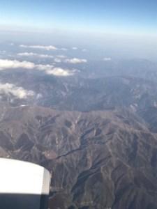 修行二日目機内からの景色2