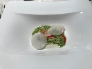 ミラコスタオチェーアノコース料理3
