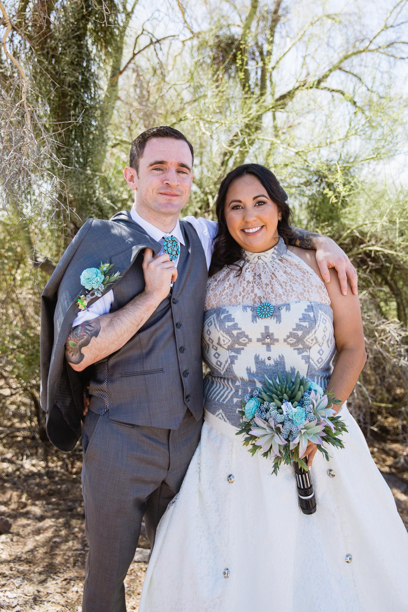 Lost Dutchman Star Wars Themed Wedding PMA