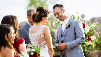 The 1, Most Important Outdoor Wedding Tip  If I could tell every couple with an outdoor wedding one tip, it would be go make sure you have even lighting for your ceremony.  Unfortunately, cameras do not see shade and sunlight as well as our eyes do. So, if you are in the shade and your fiance is…