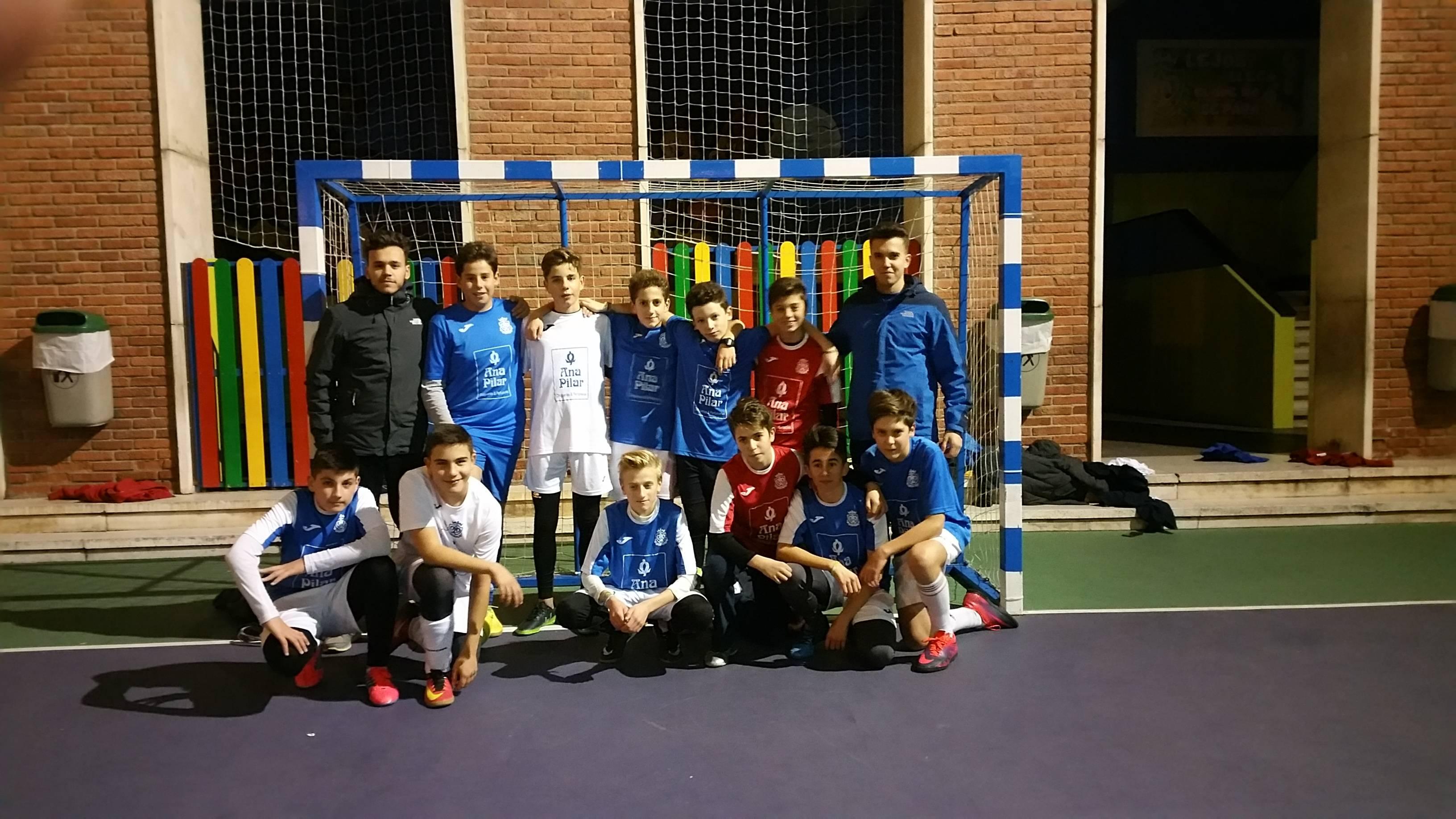 líderes fútbol sala infantil sagrada familia