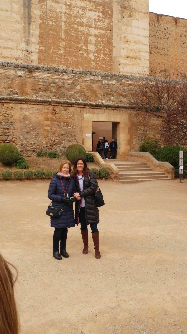 Visita Alhambra colegio Sagrada Familia
