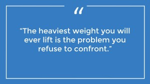 The Weight of Confront