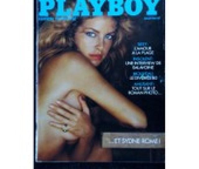 Playboy 080 1980 Juillet Fellini Interview Daniel Balavoine Cover Sydne Rome Nue Playmate Teri Peterson