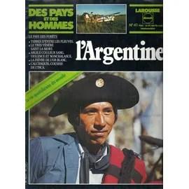 des pays et des hommes magazine sur l'argentine