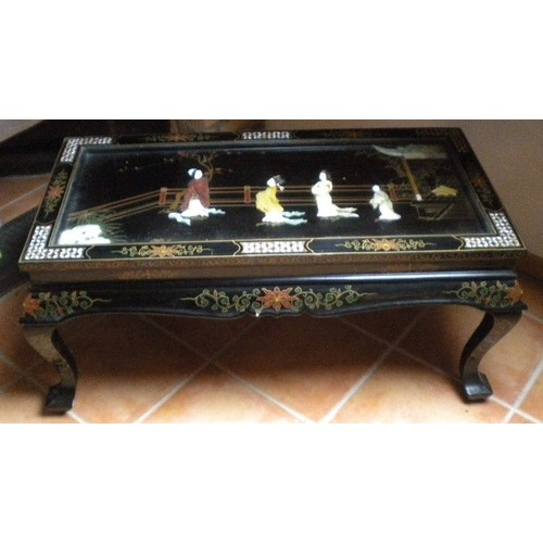 Ancienne Table Basse Chinoise
