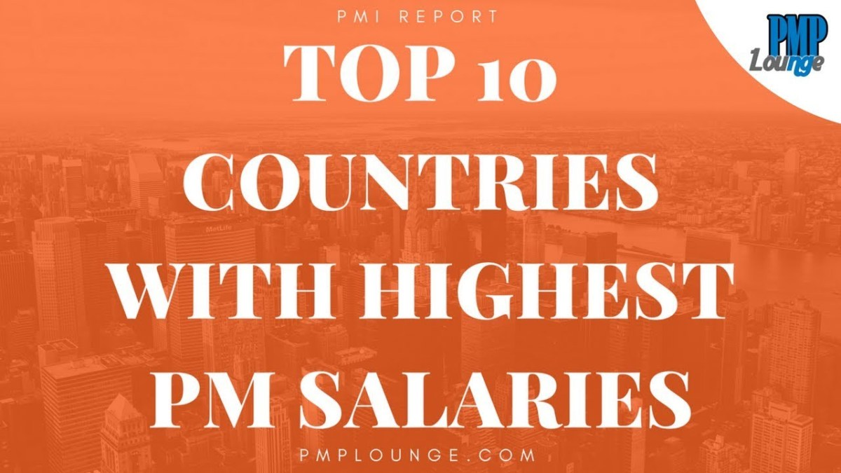 Top 10 Countries with Highest Project Manager Salaries