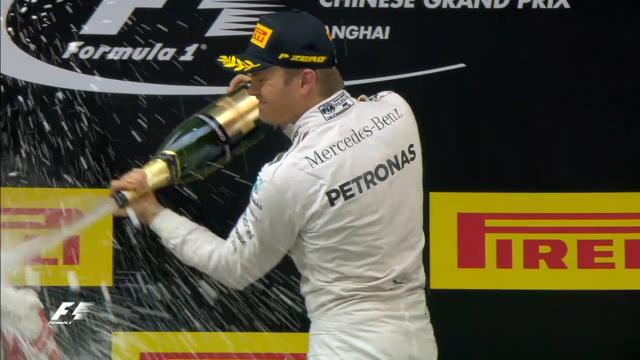 Rosberg wins again in China