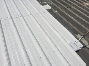 applying roof coatings fast